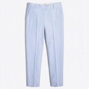 JCREW Cropped Ankle Pants in Blue